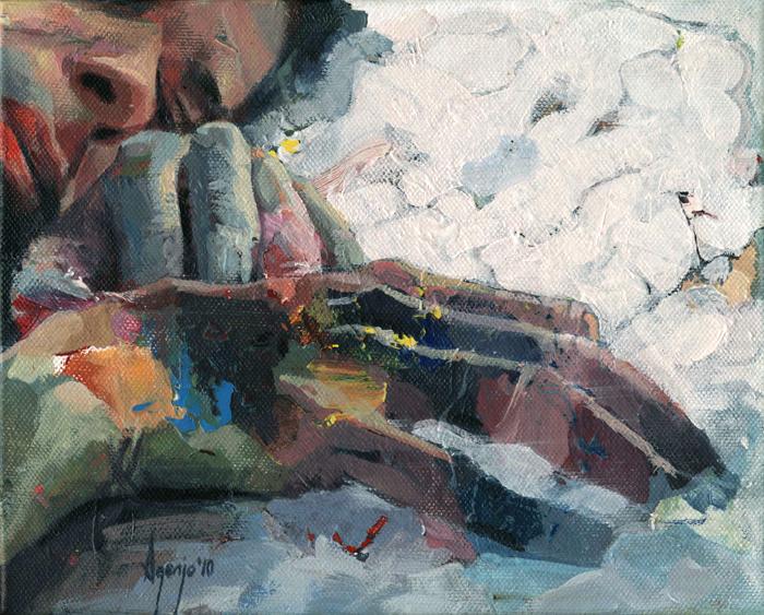Figurative Painter David Agenjo