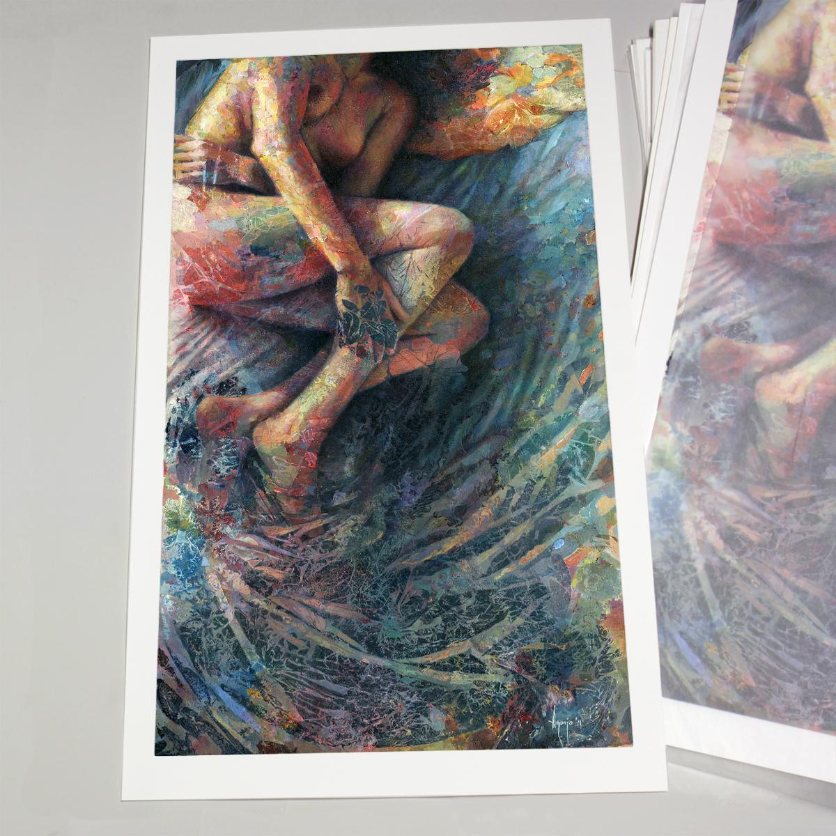 Colorful print by David Agenjo