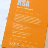 RSA 'Annual Exhibition'. Invitation